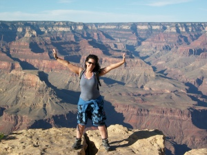 Free in the Grand Canyon, No 1 on my Bucket List since I was a small child