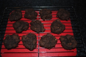 Double Dark Chocolate Cookies