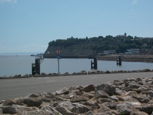 Looking over to Penarth from the Cardiff side