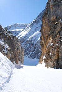 Well, you know I couldn't resist including a skiing shot! I skied through this pass at Garmisch-Partenkirchen in Germany.